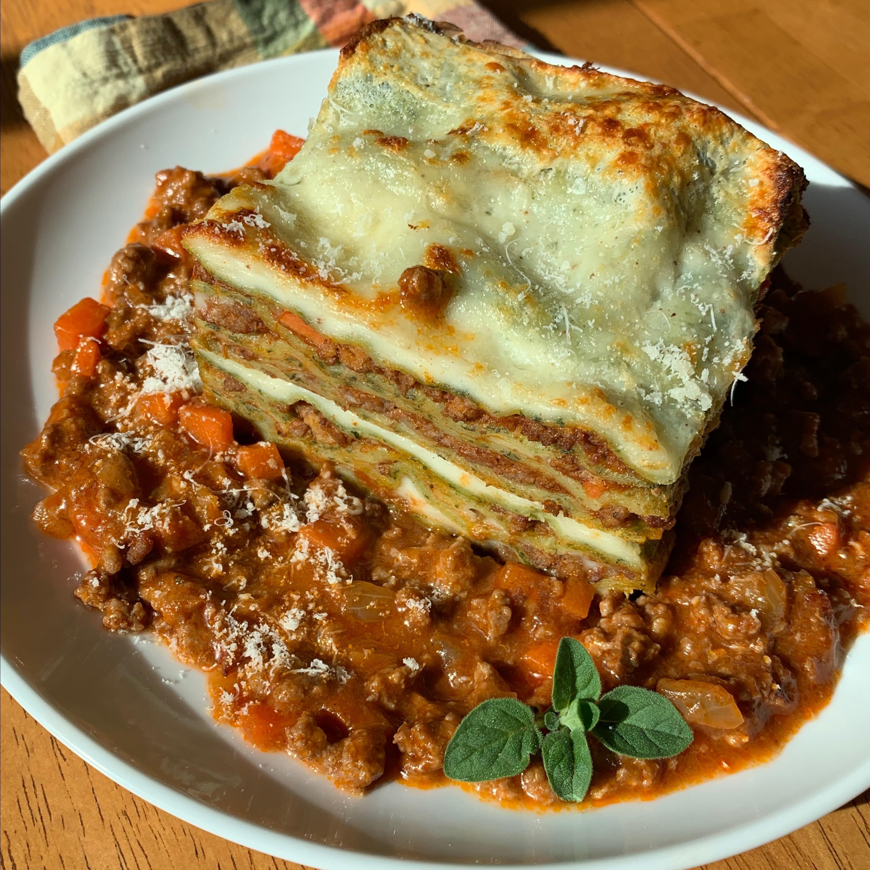 Lasagne Verdi alla Bolognese Howard