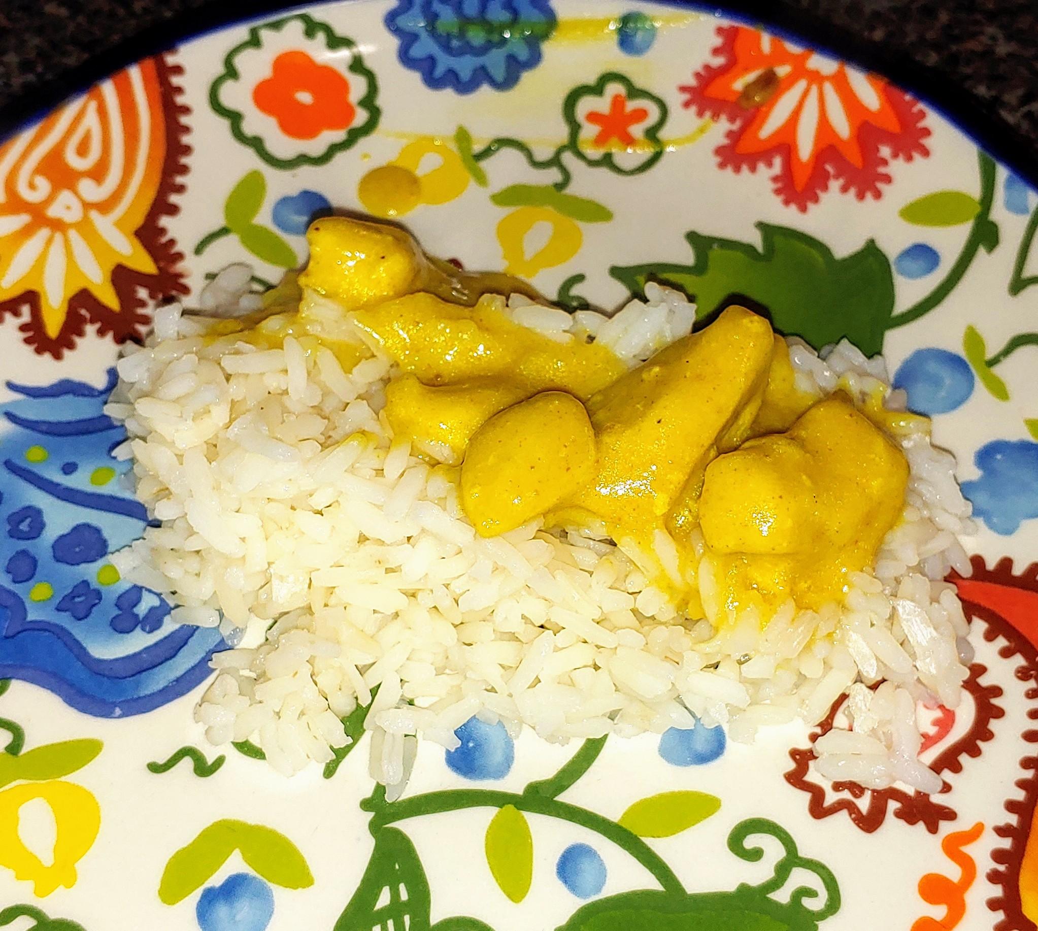 Simple Chicken Curry Jonette Coldsmith