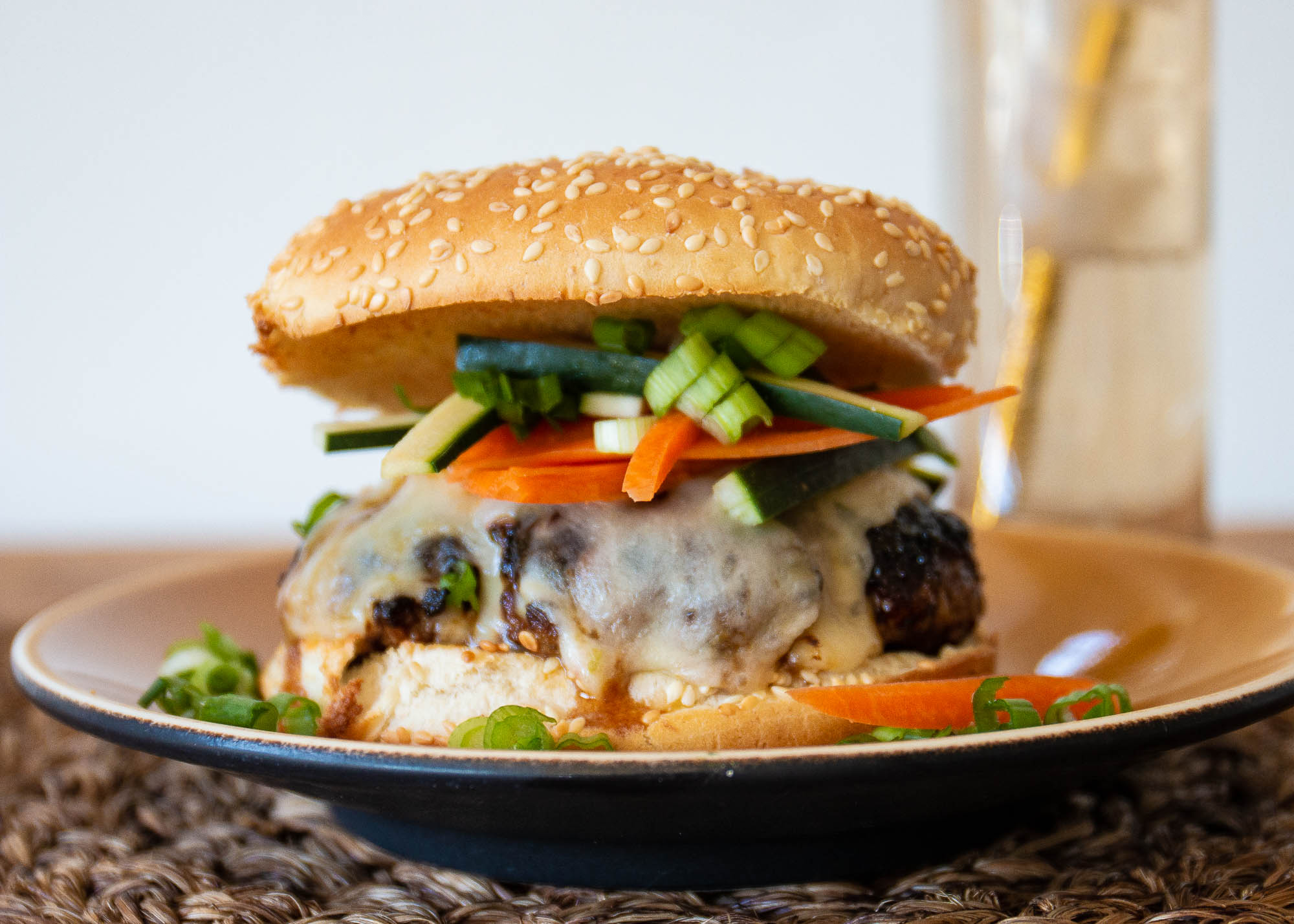 Asian Barbecue Burgers Occasional Cooker