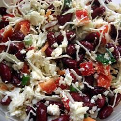 Red Bean Salad with Feta and Peppers MBKRH