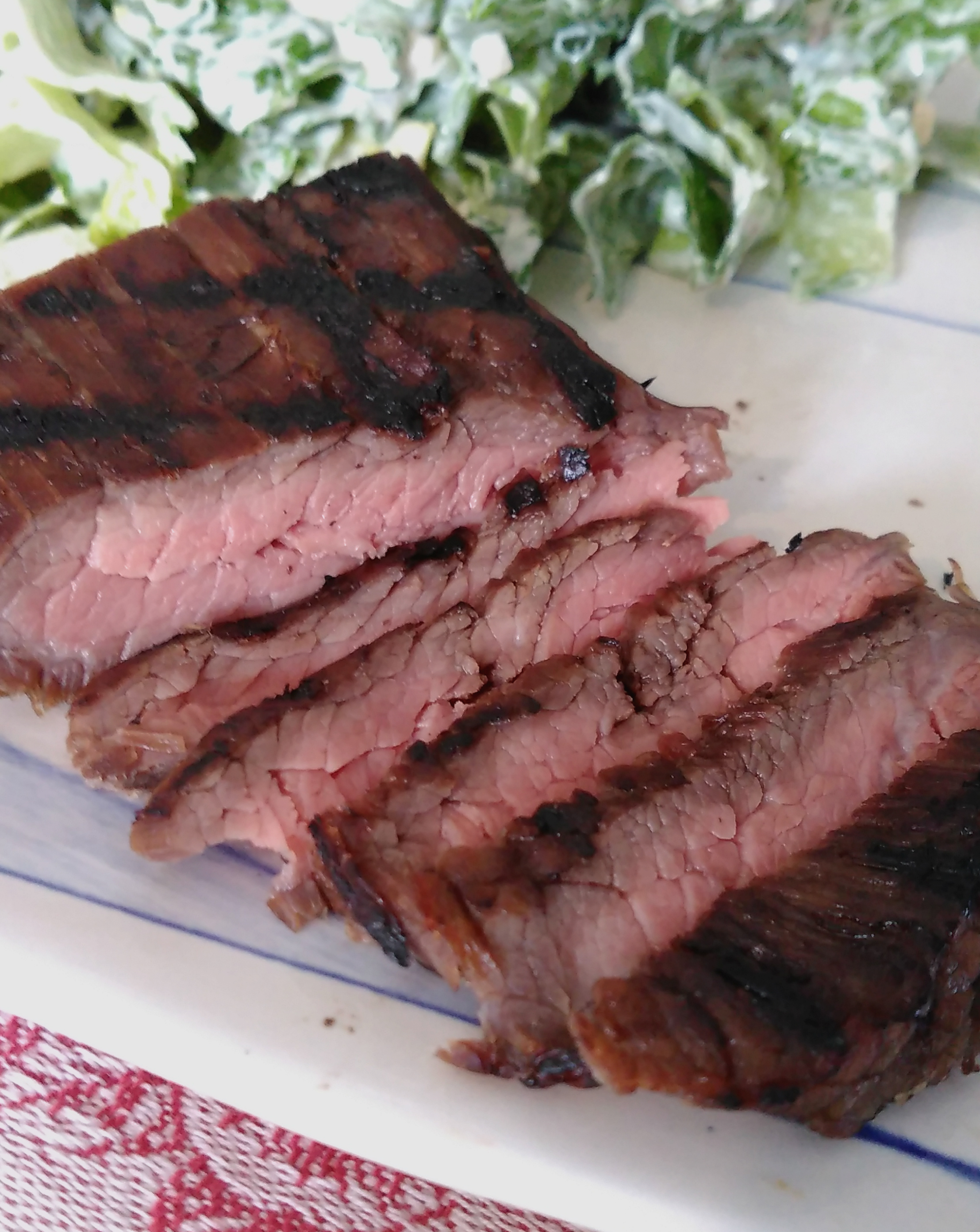 Sous Vide Marinated Flank Steak Bren
