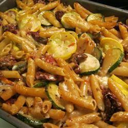 Penne Pasta with Veggies Jess