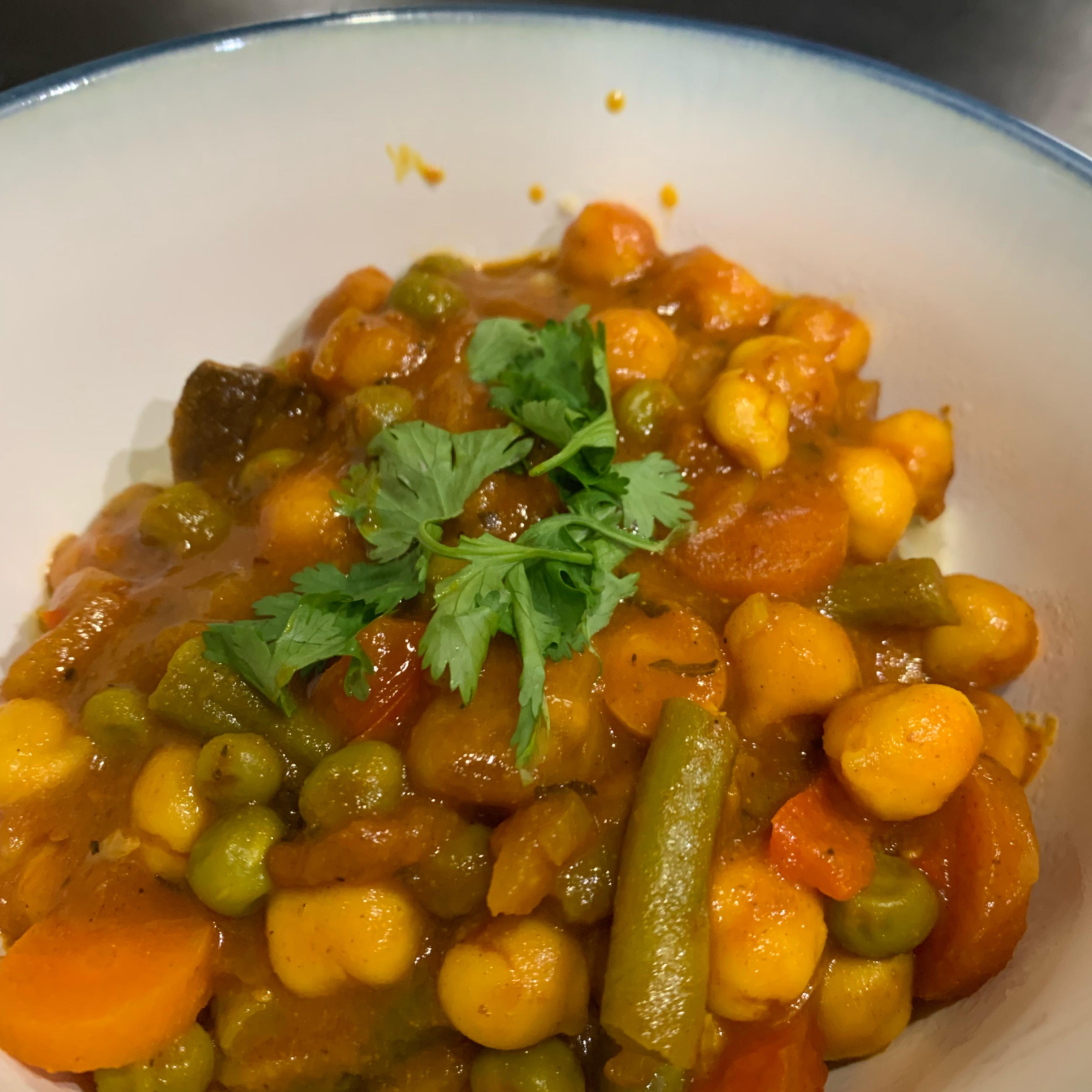 Vegetarian Splendor Chickpea Curry Joseph Bante