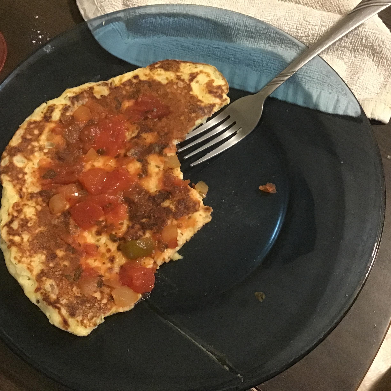 My Crispy Mashed Potato Pancake