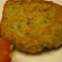 Baked Falafel McBacon