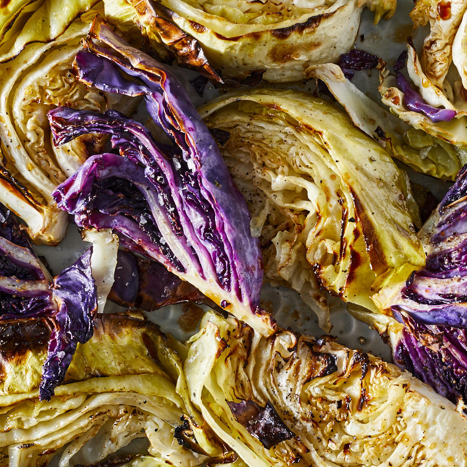 Balsamic Roasted Cabbage Marianne Williams