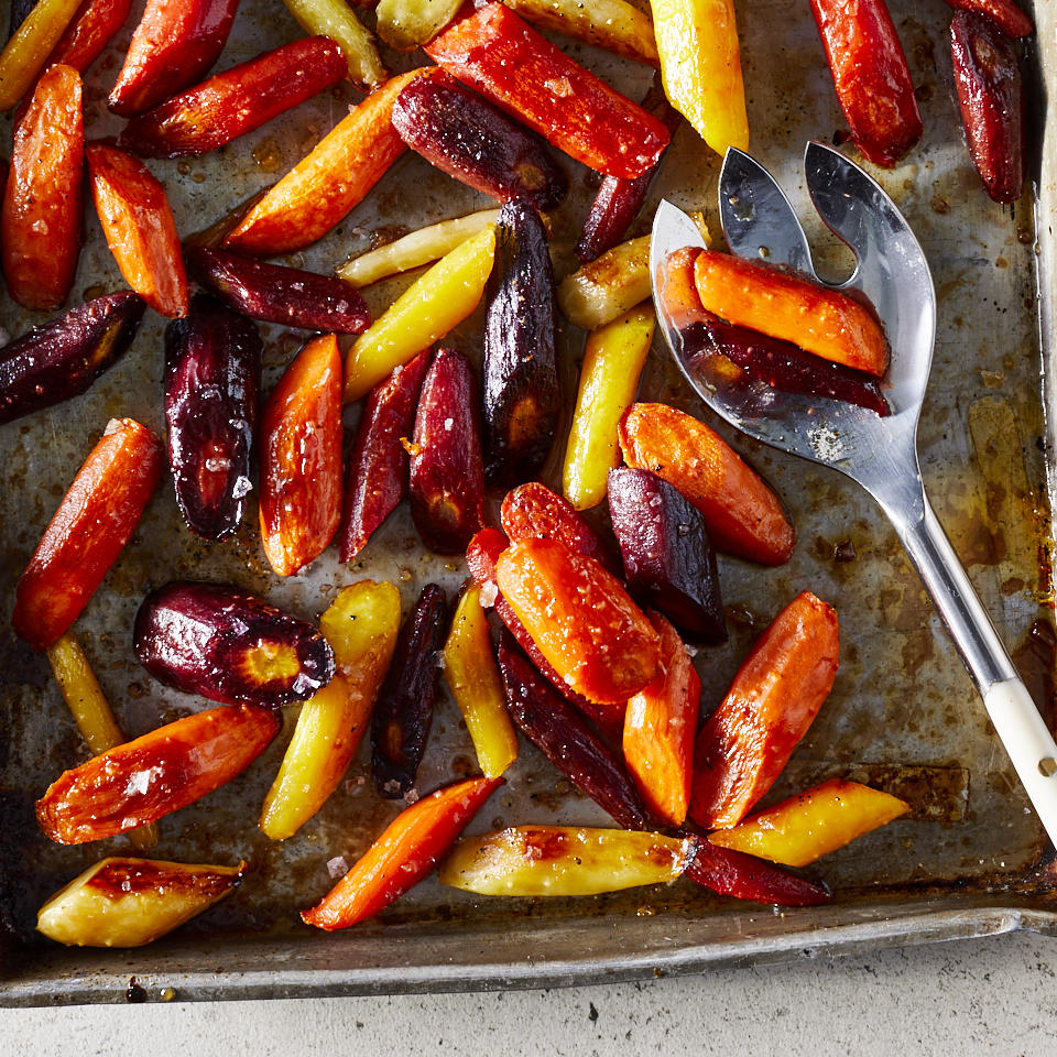 Balsamic Roasted Carrots Trusted Brands