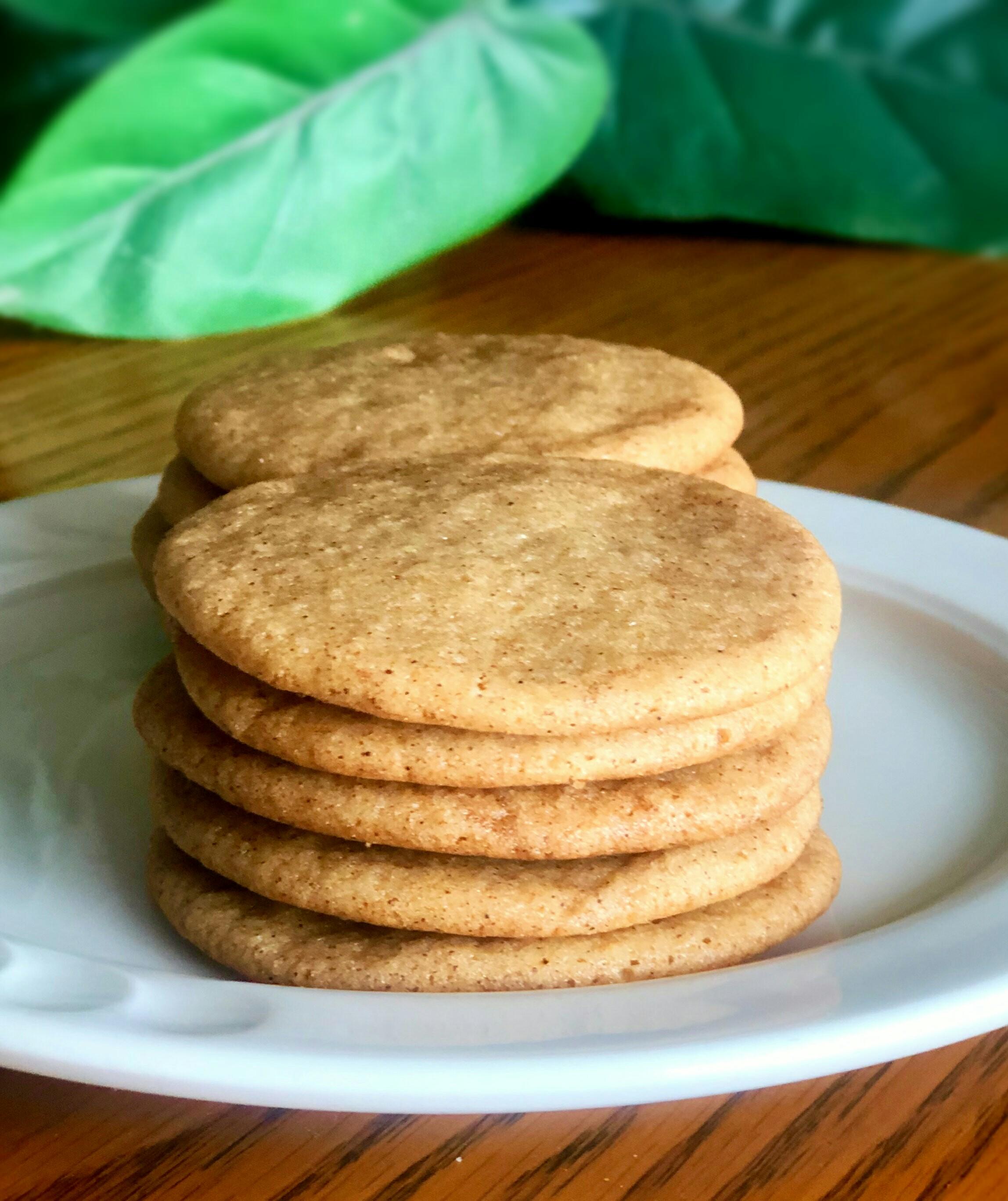 Honey Cinnamon Cookies BakingQueen