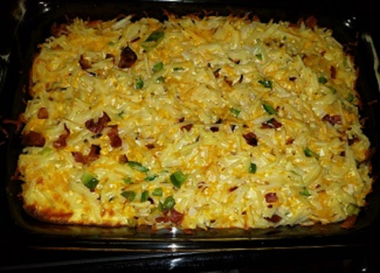 Cheese and Potato Breakfast Casserole