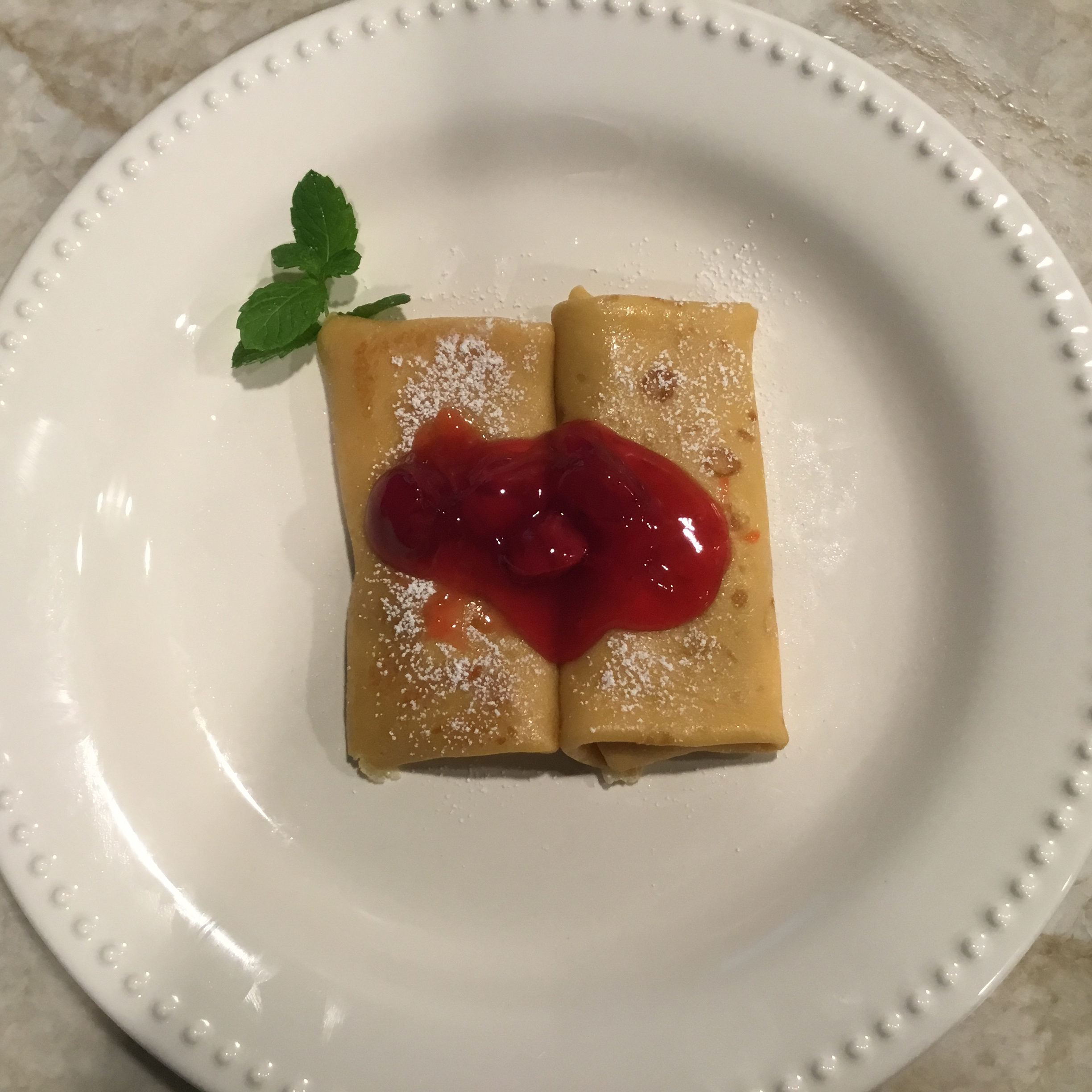 Strawberry Blintzes Lyn
