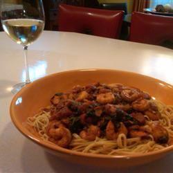 Naked Shrimp Pasta SarahMac