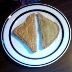 Better Peanut Butter Sandwich bearclaire