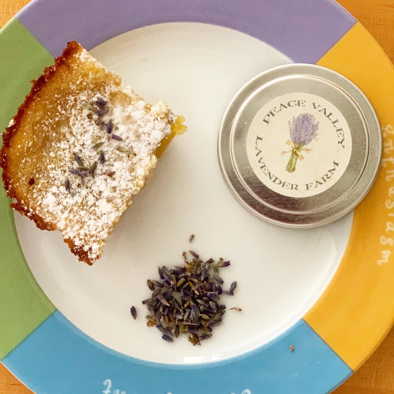 Lavender Lemon Bars bethkolar