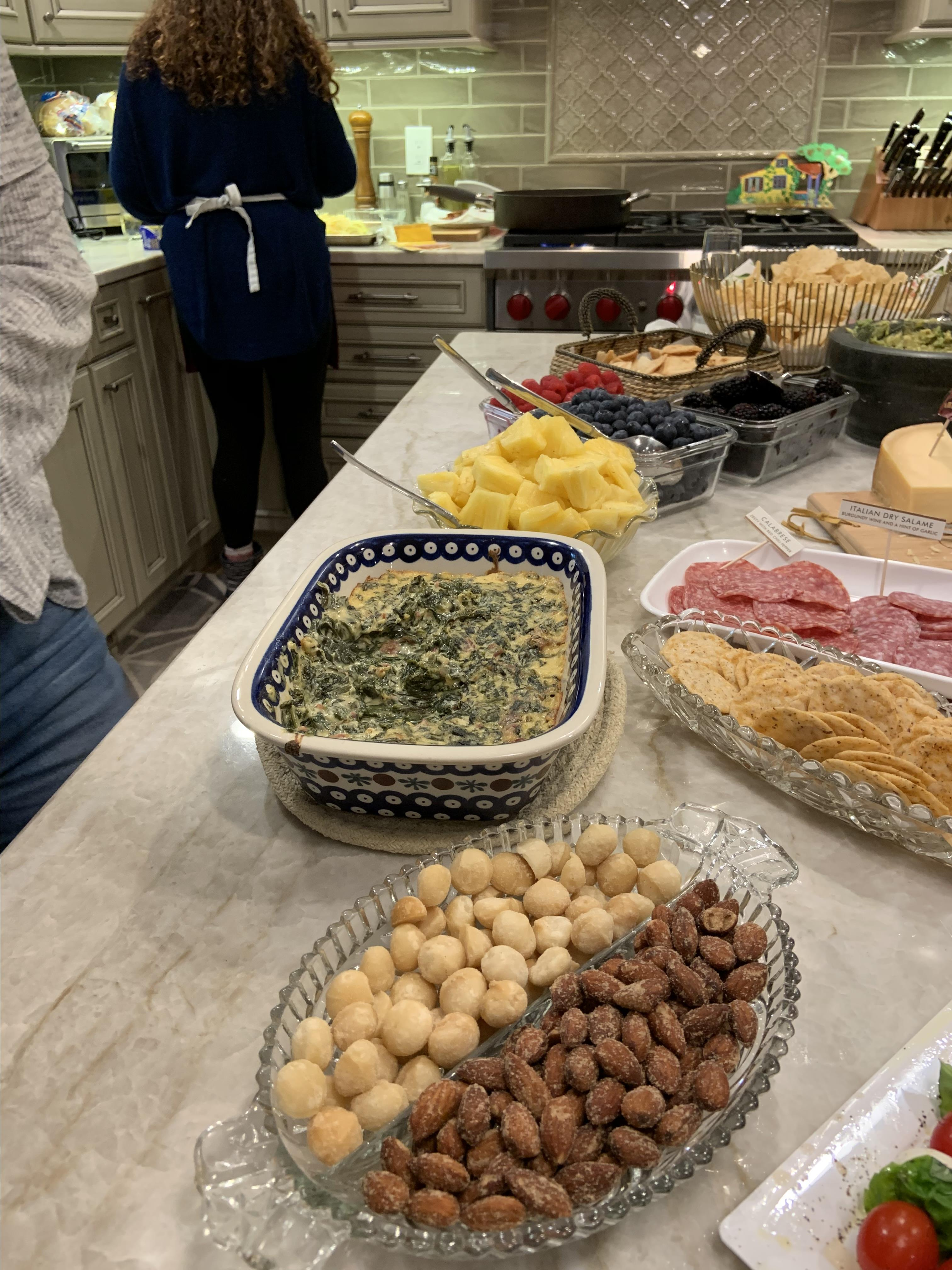 Spinach Kale Bacon Dip Benito Costatini