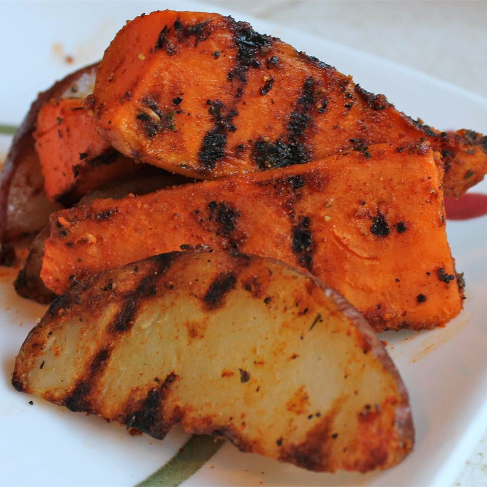 Spiced-Up Grilled Tater Wedges Marisa R.