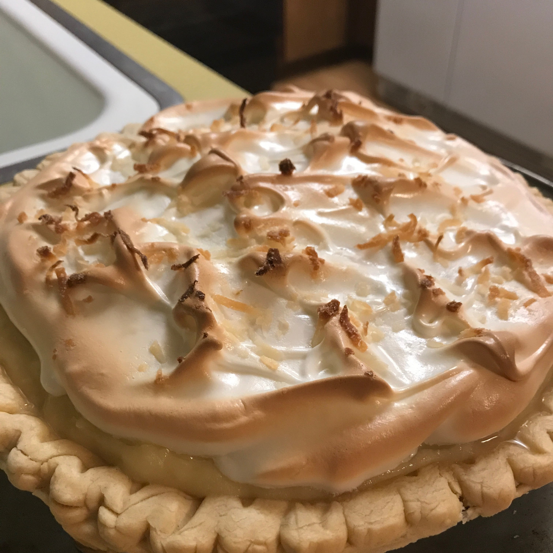 Coconut Cream Meringue Pie Carmen Colwell