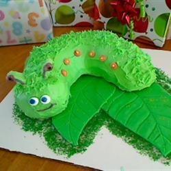Caterpillar Cake