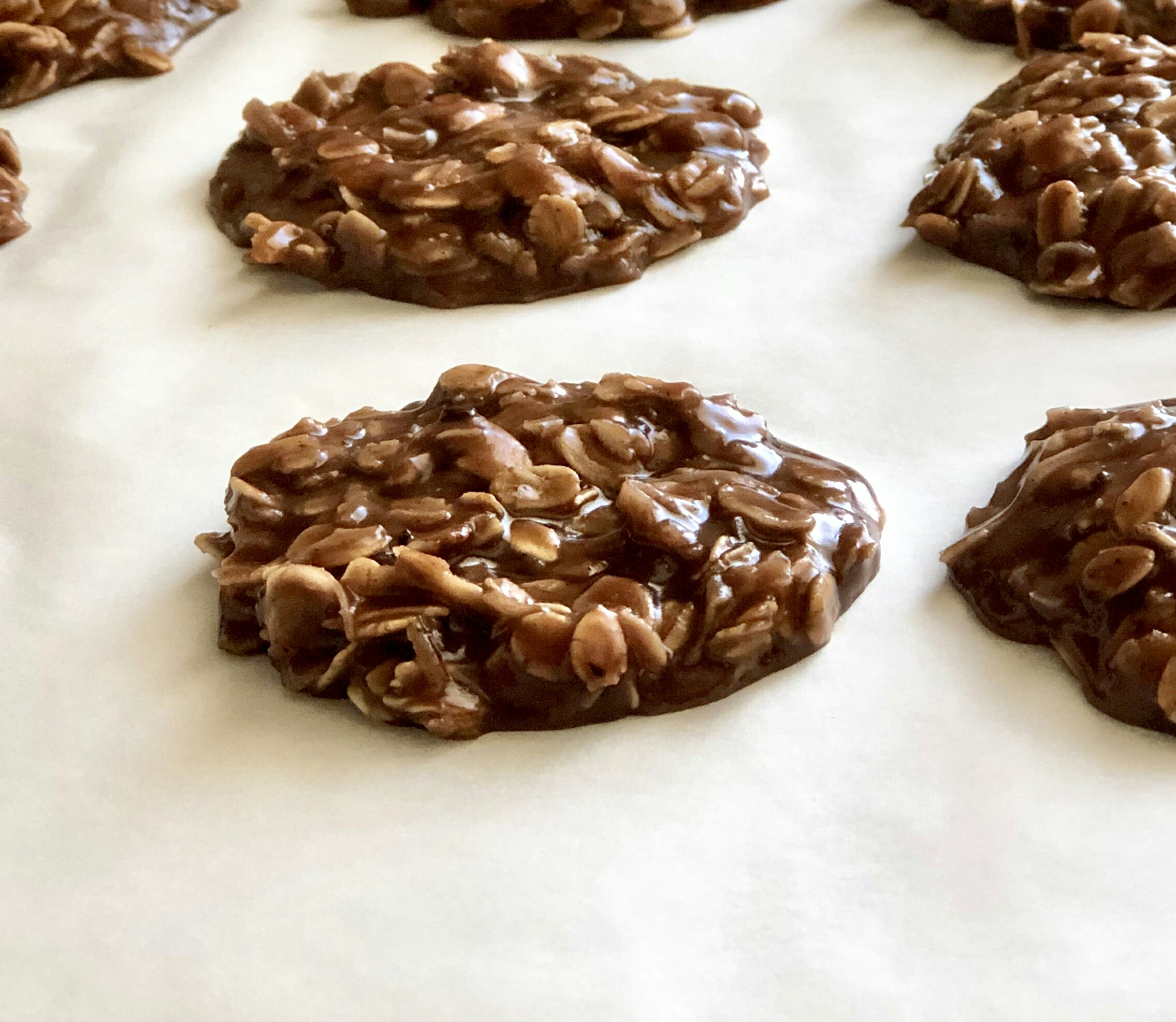 No-Bake Chocolate-Peanut Butter Drop Cookies Yoly