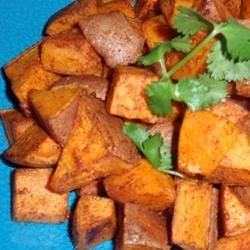 Grilled Chipotle Sweet Potatoes