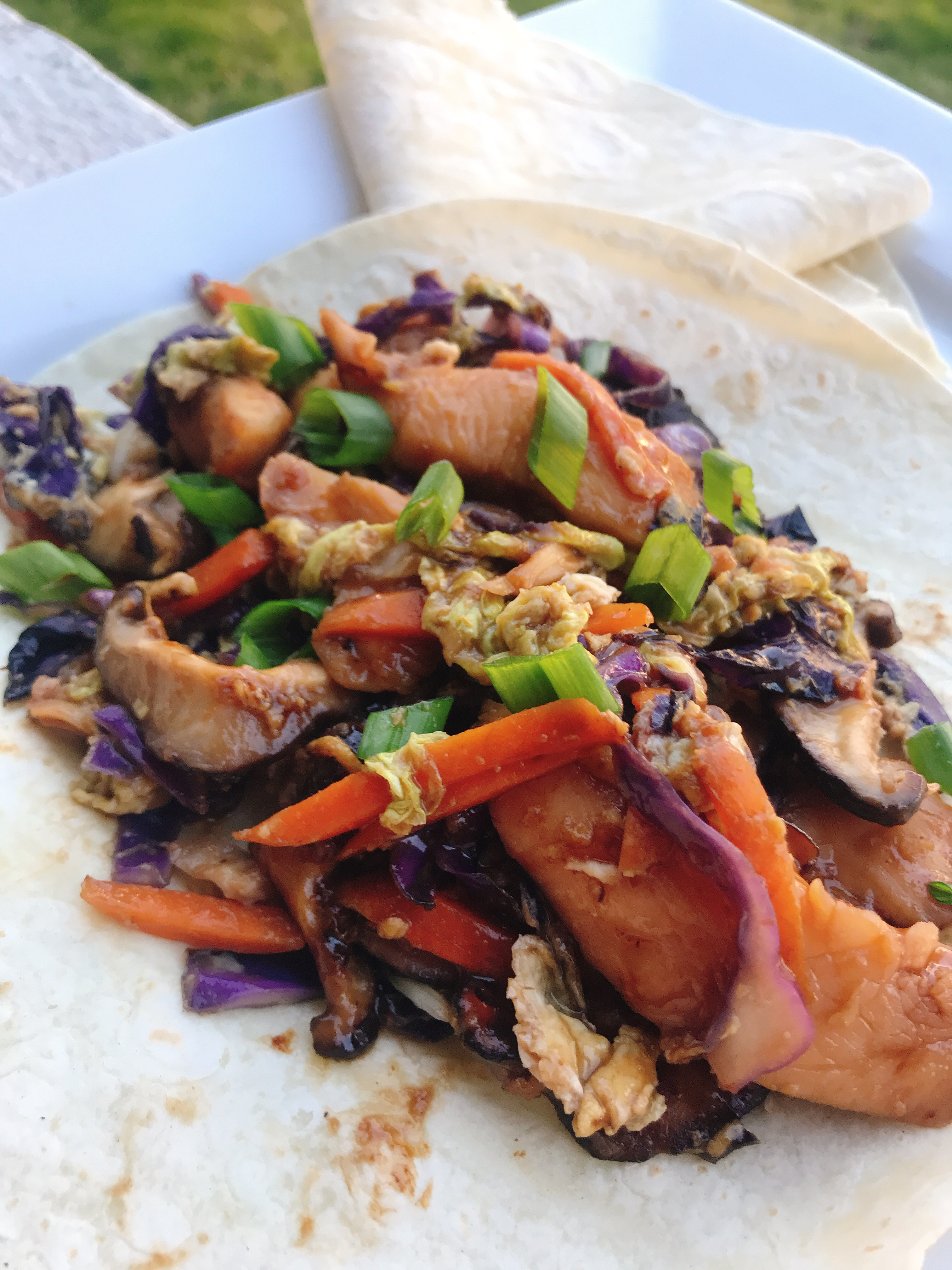 Moo Shu Chicken with Mandarin Pancakes thedailygourmet