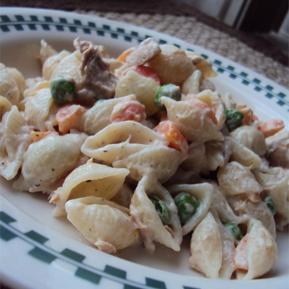 No-Egg Tuna Macaroni Salad