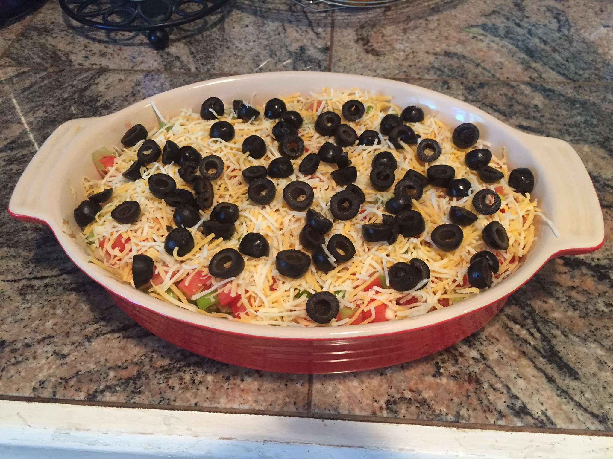 Haystack (The Best 7-Layer Dip Ever)