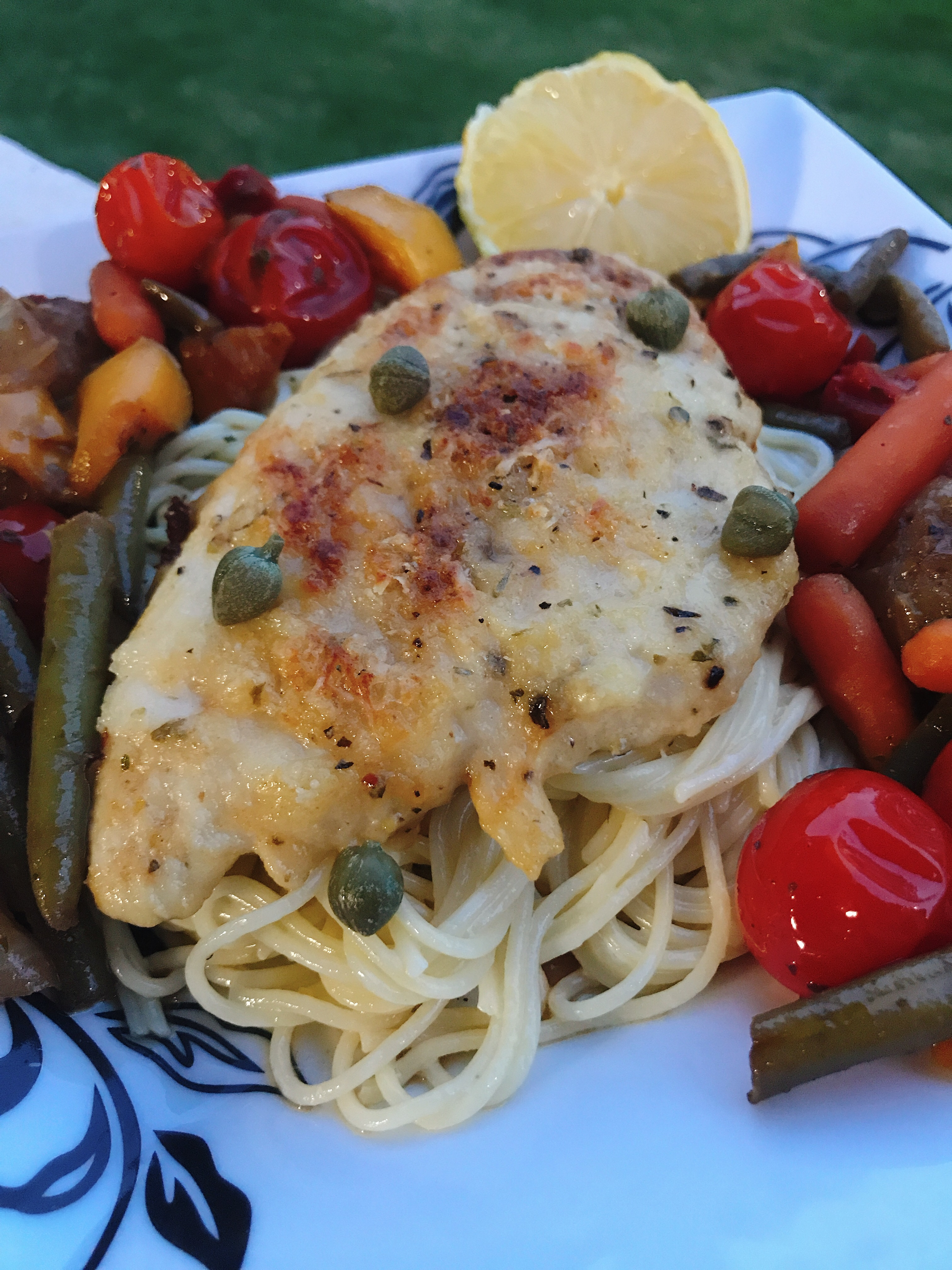 Oven-Baked Chicken Piccata