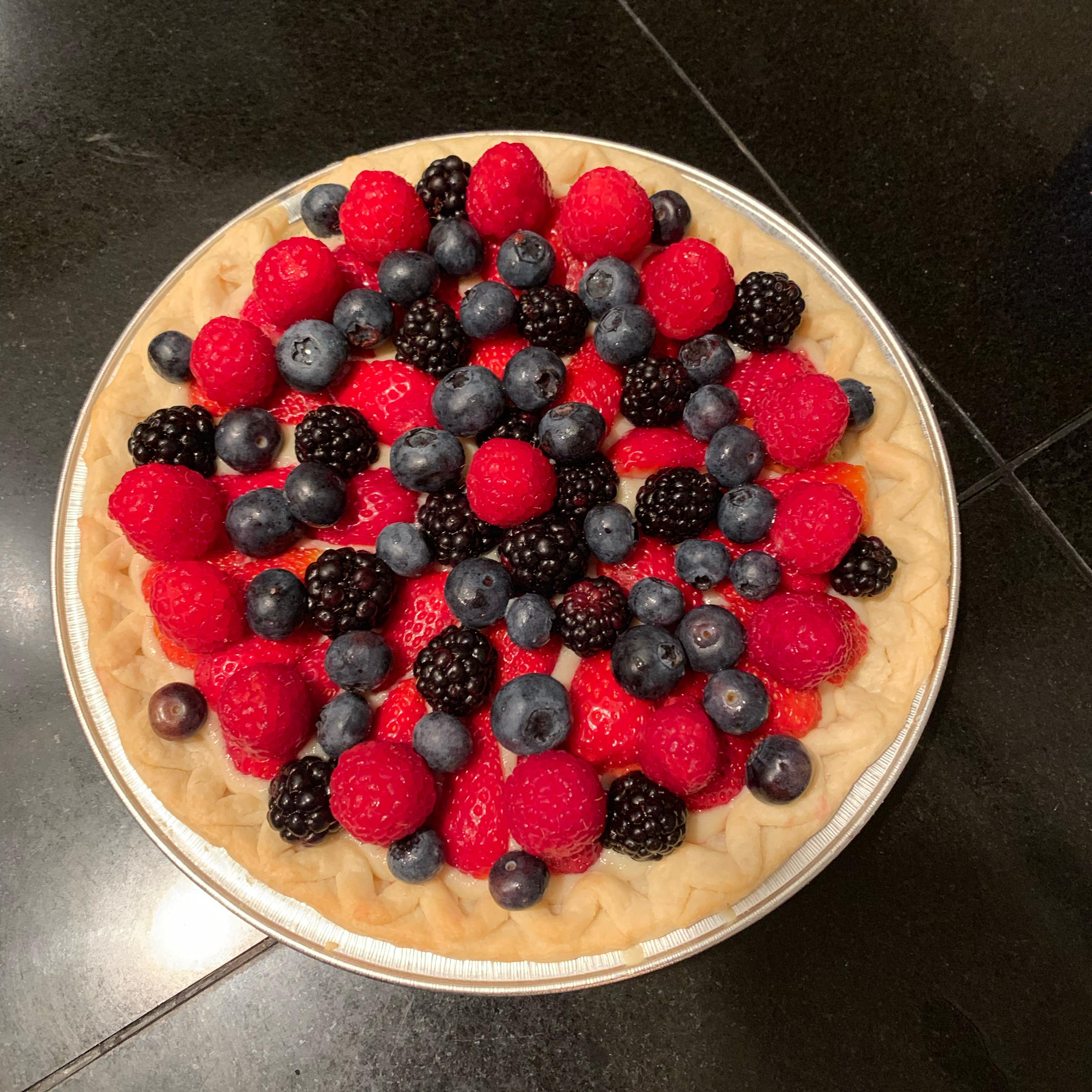 Summer Fruit Tart from Almond Breeze® Rakell