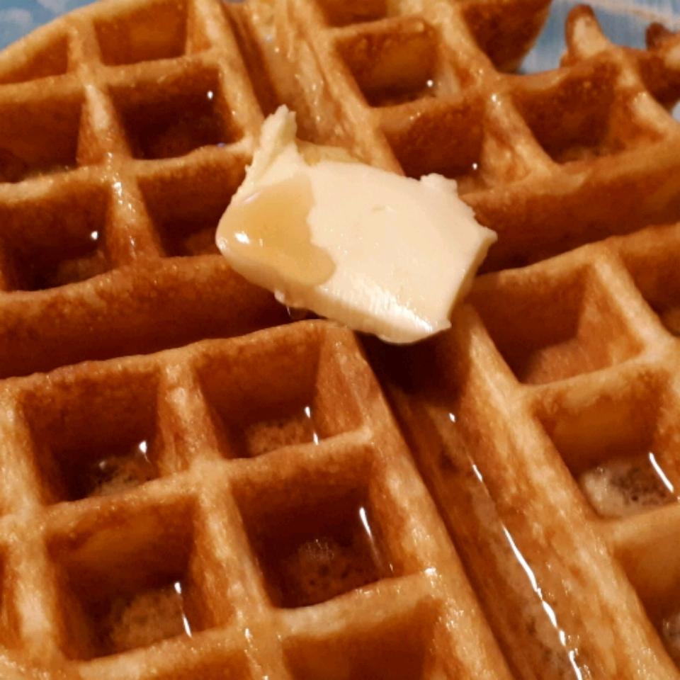 Rich Yogurt Waffles