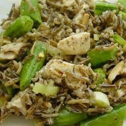 Chicken and Snap Pea Wild Rice Salad Stacey
