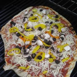 Grilled Pizza Brittany Owens