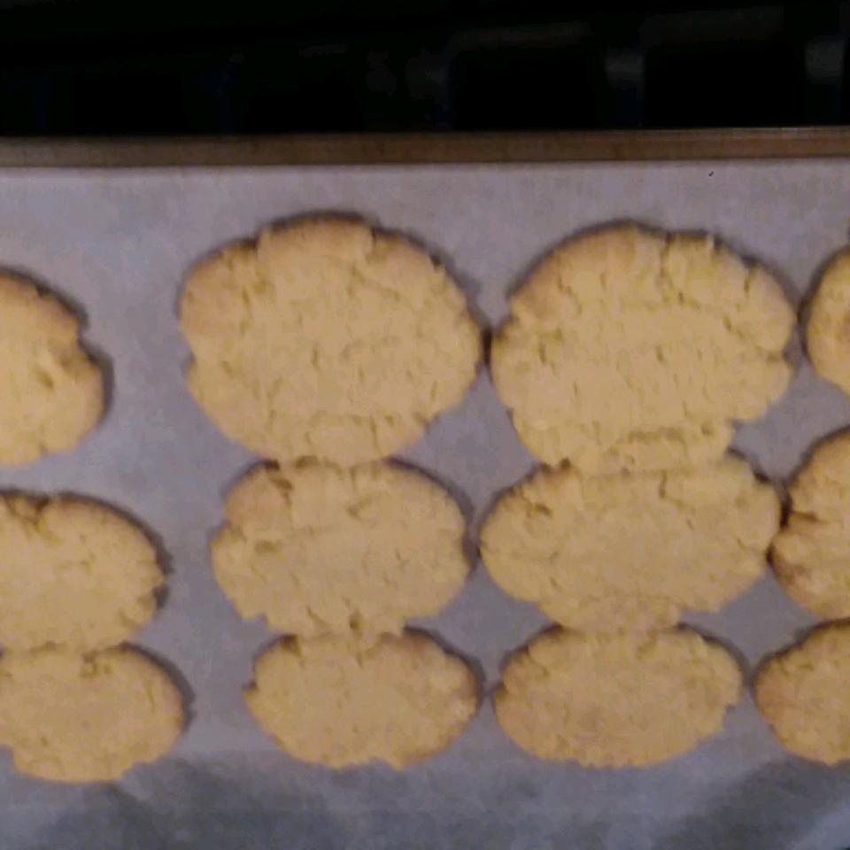 Coconut Oil Sugar Cookies