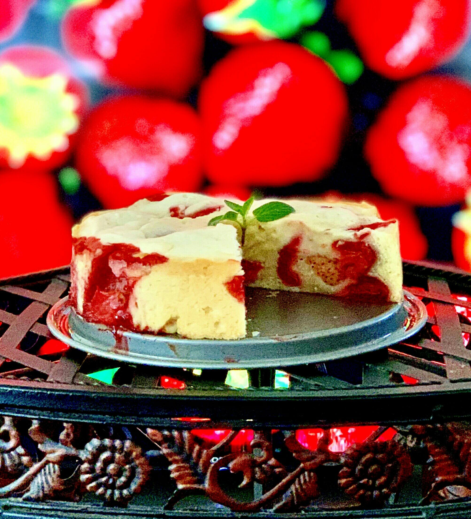 French Strawberry Cake Yoly