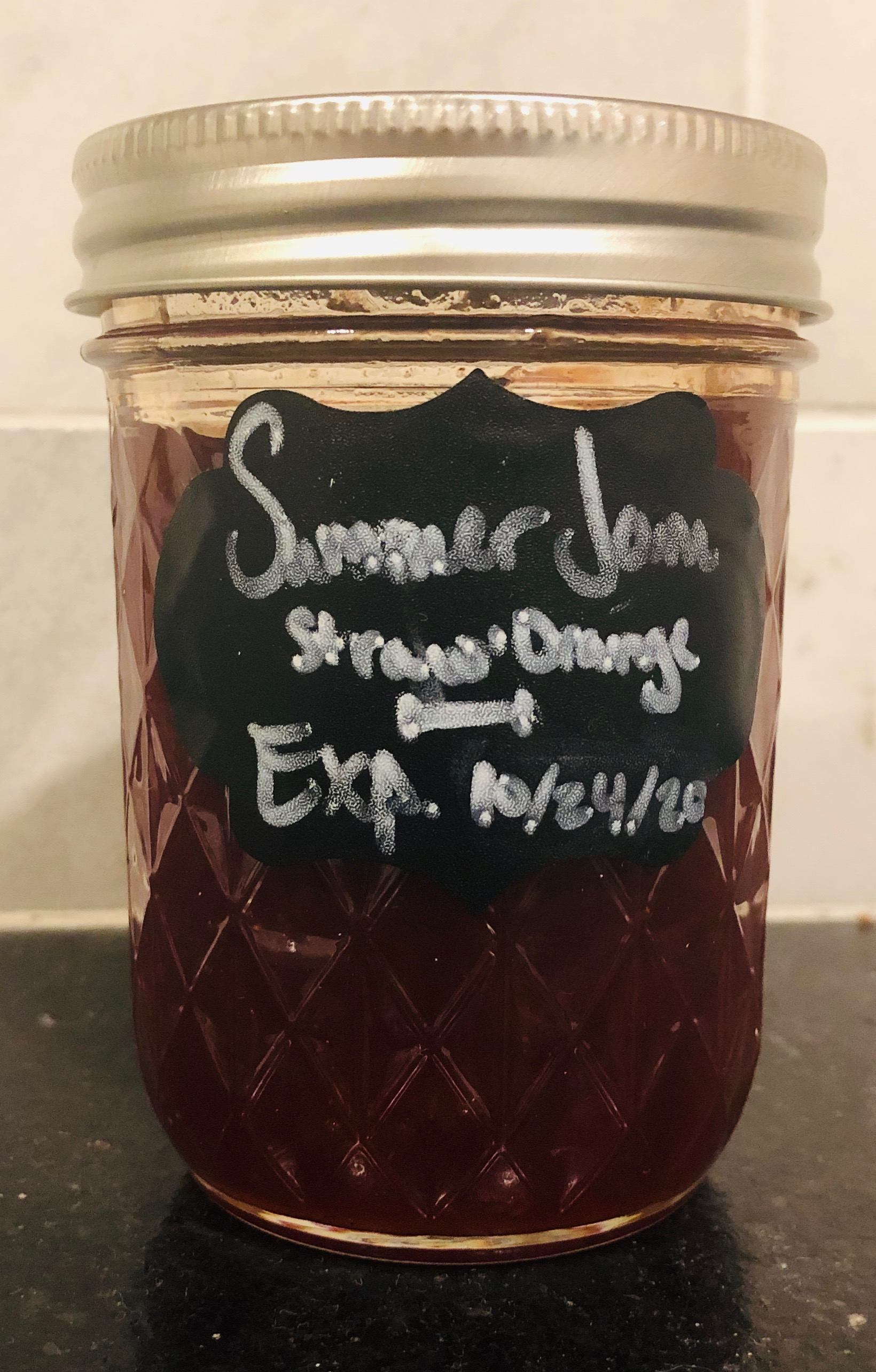 Strawberry Orange Jam