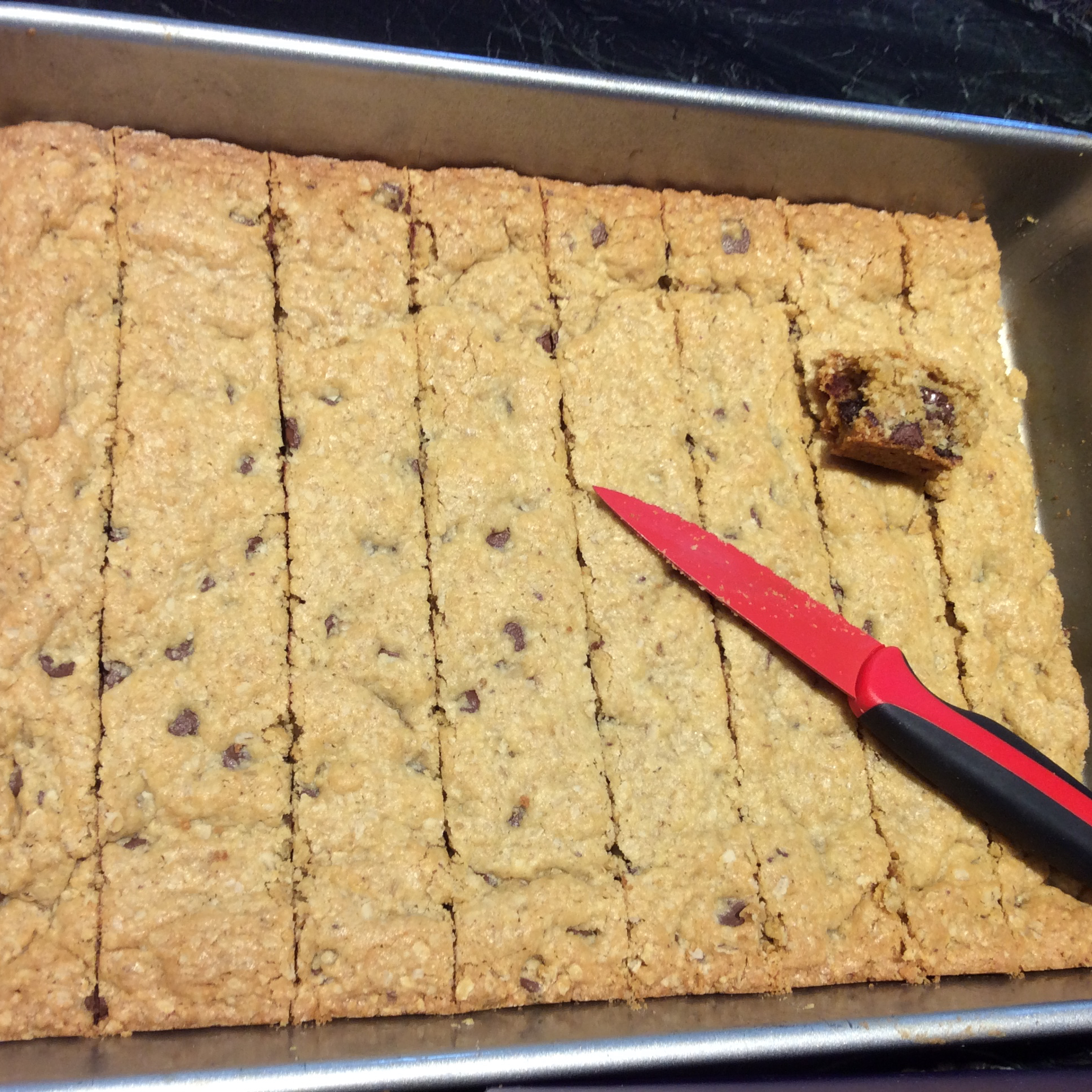 Amazing Oatmeal Chocolate Chip Bars Wendy