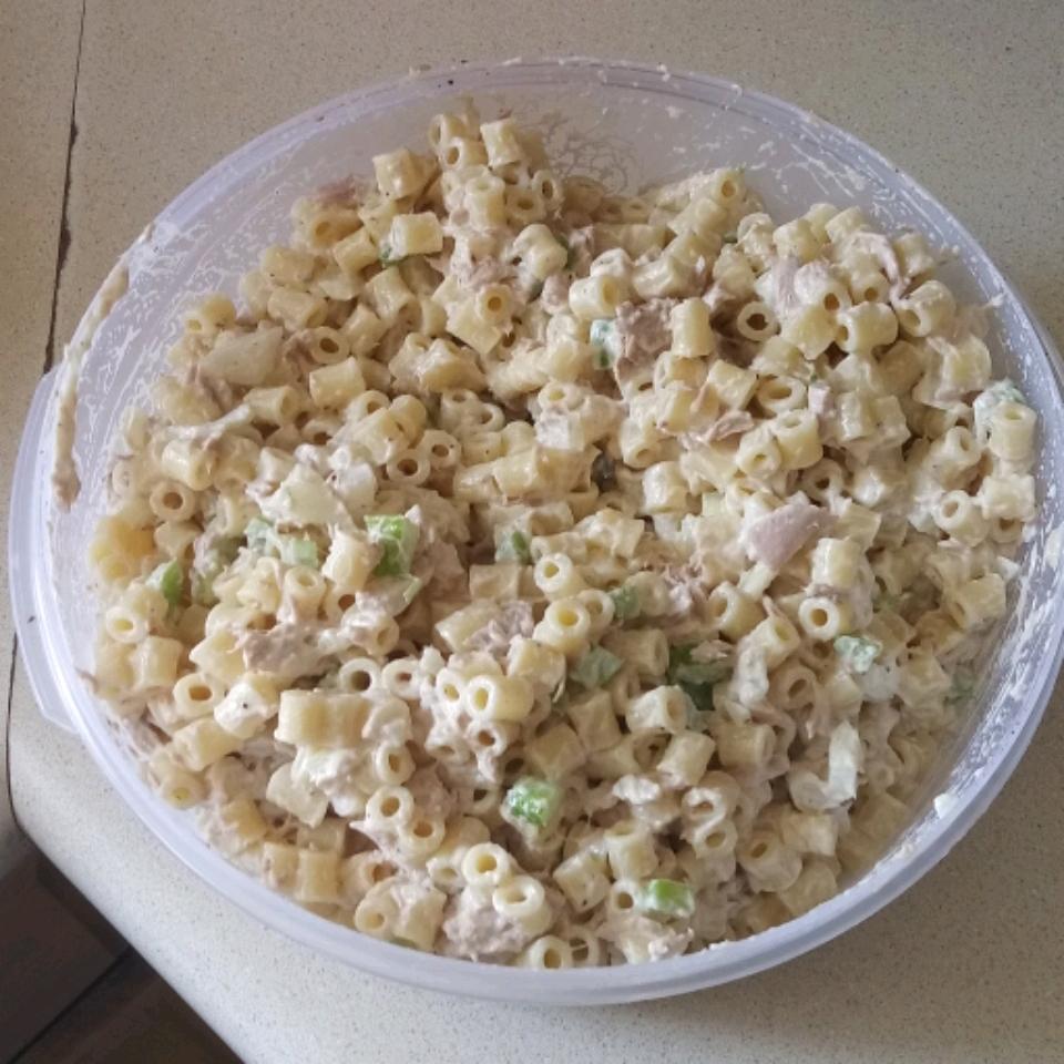 Macaroni Tuna Salad Brenda Wood