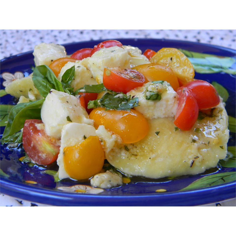 Ravioli with Cherry Tomatoes and Cheese Baking Nana