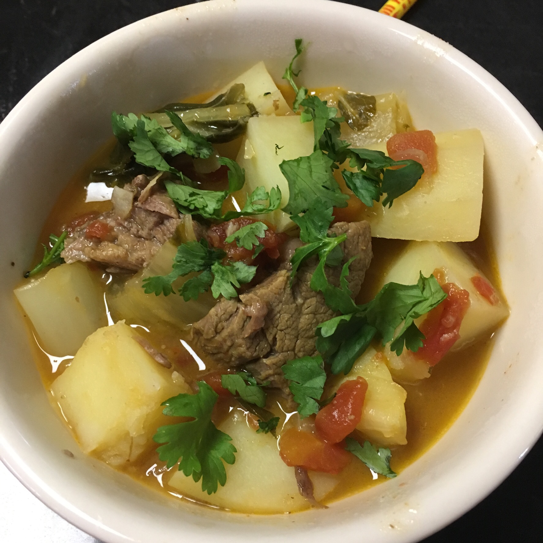 Slow Cooker Red Curry Beef Pot Roast