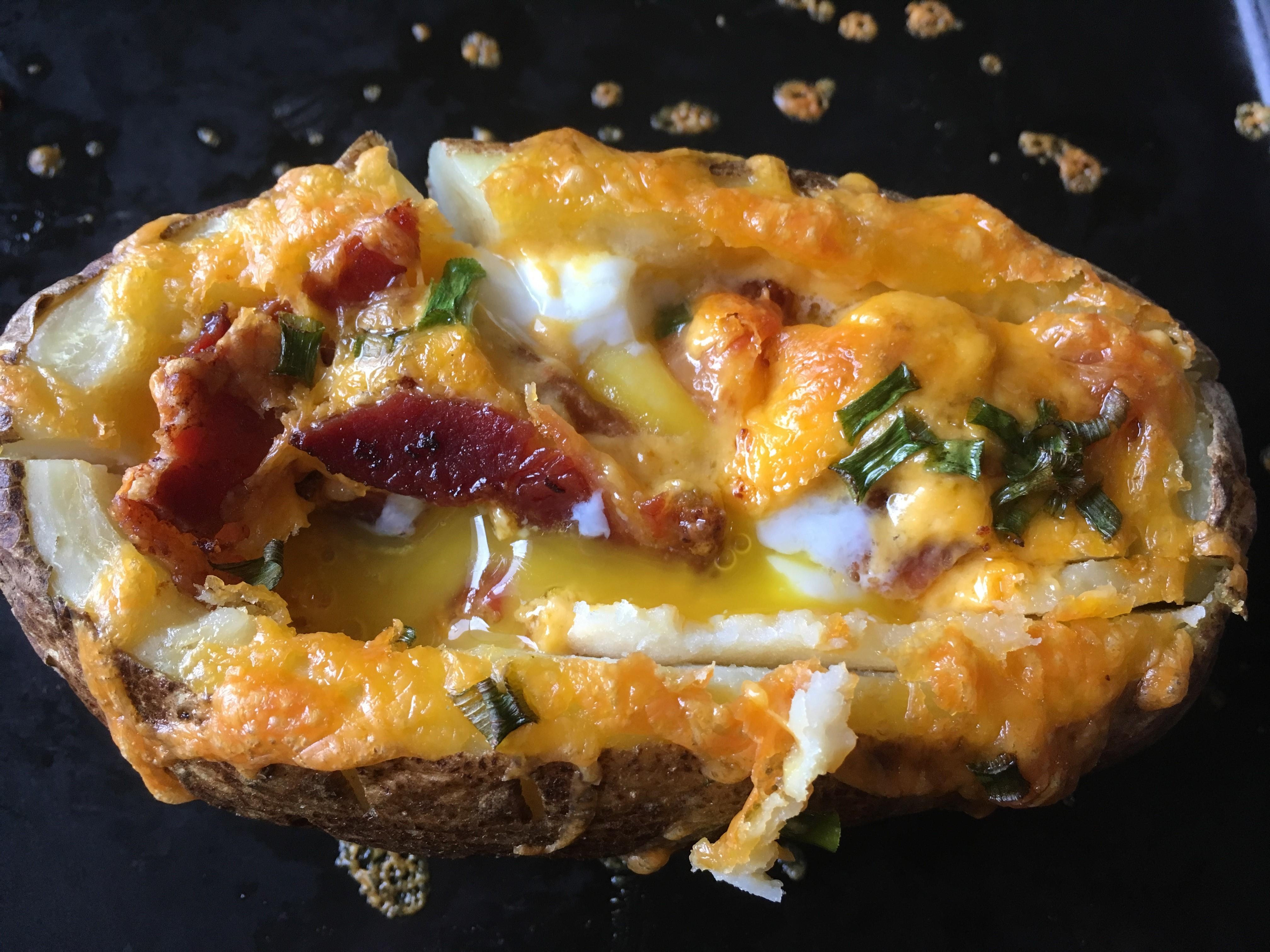 Idaho Sunrise (Breakfast Baked Potato)