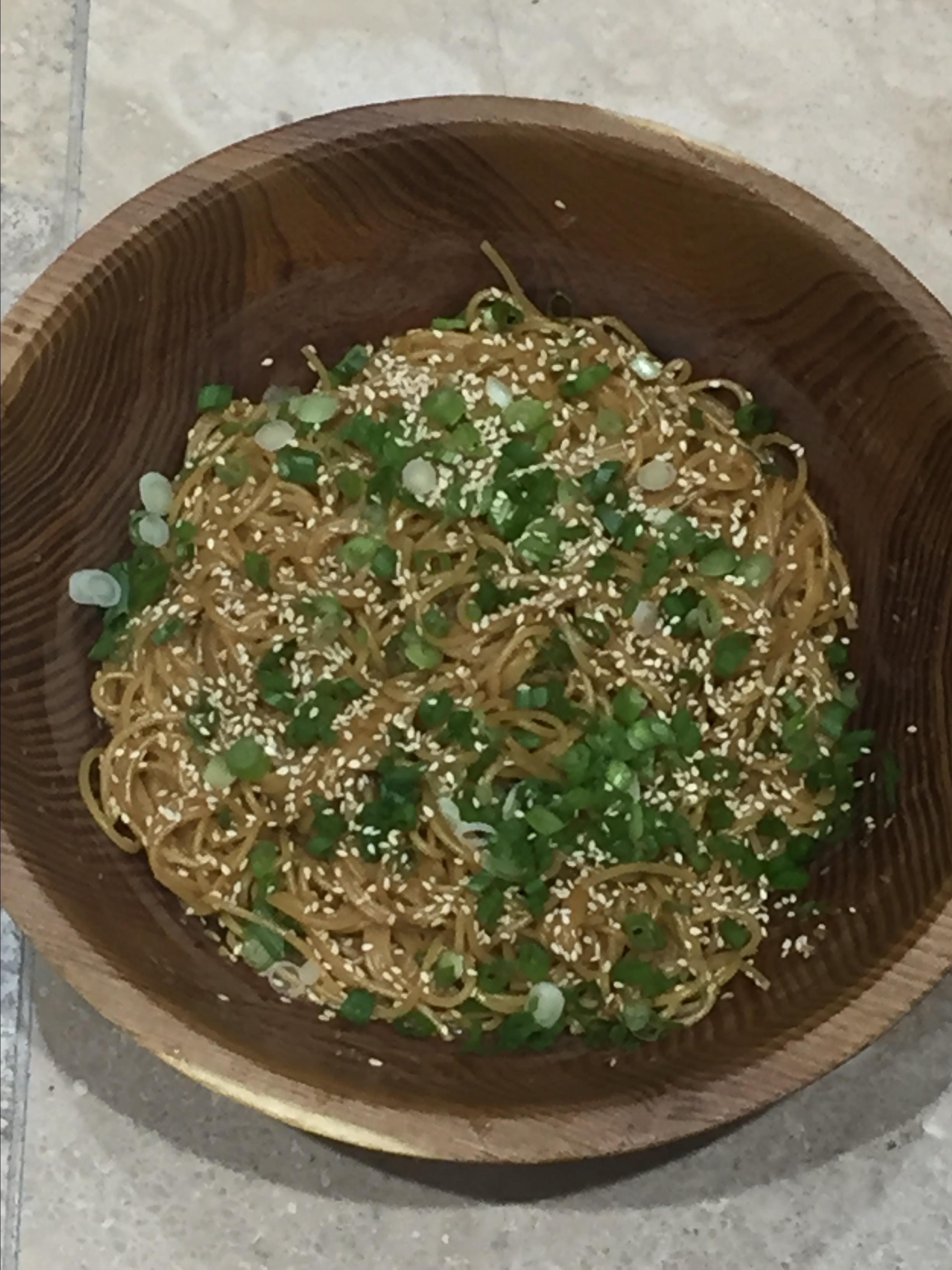 My Favorite Sesame Noodles