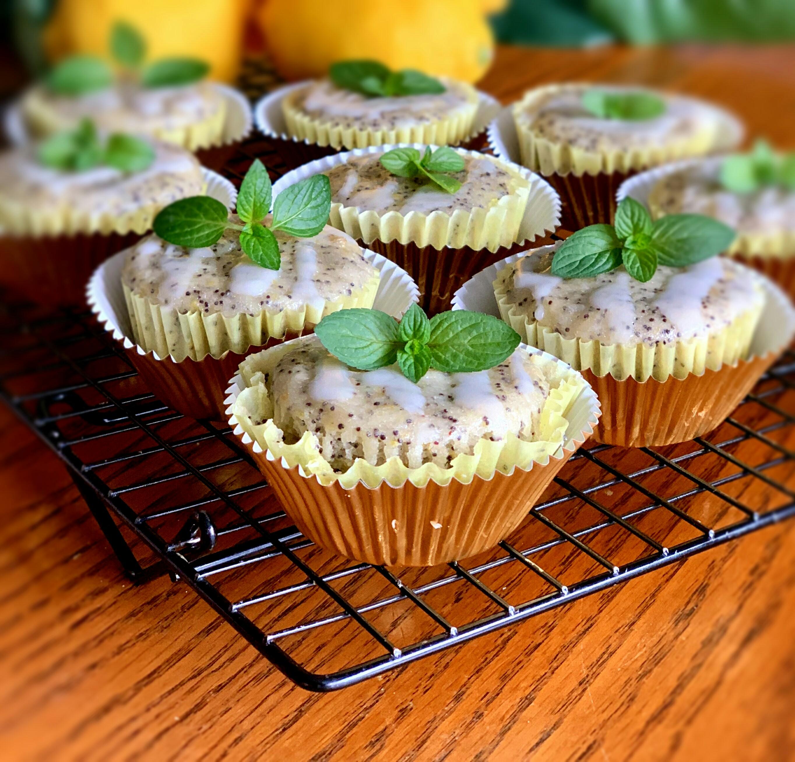 Vegan Lemon-Poppy Seed Muffins Yoly