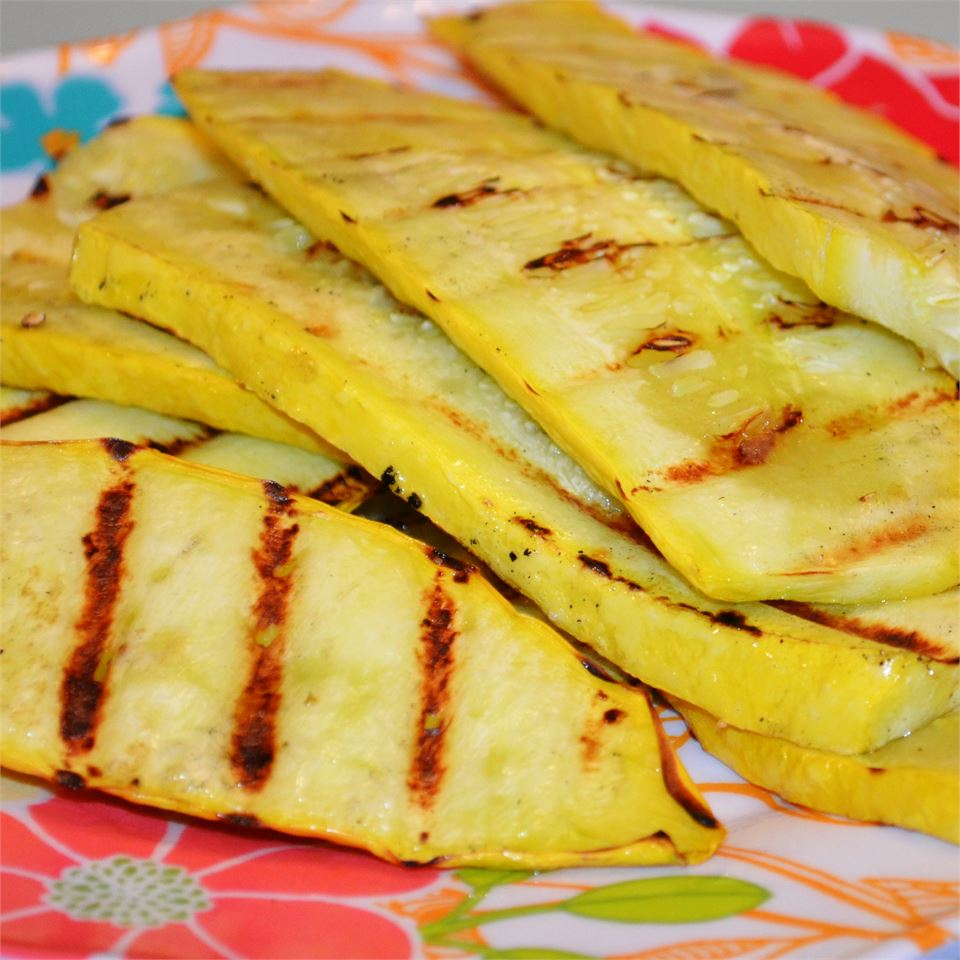 Grilled Yellow Squash SMClanton