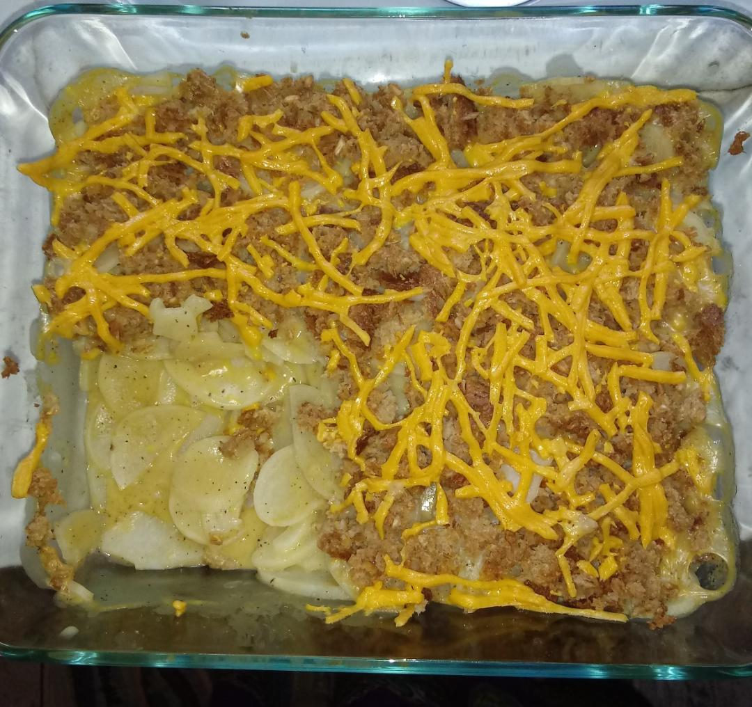 Vegan Potatoes au Gratin Krista D