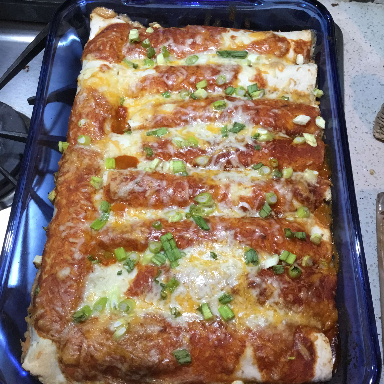 Easy Creamy Chicken Enchiladas Heidi Johnson Sosner