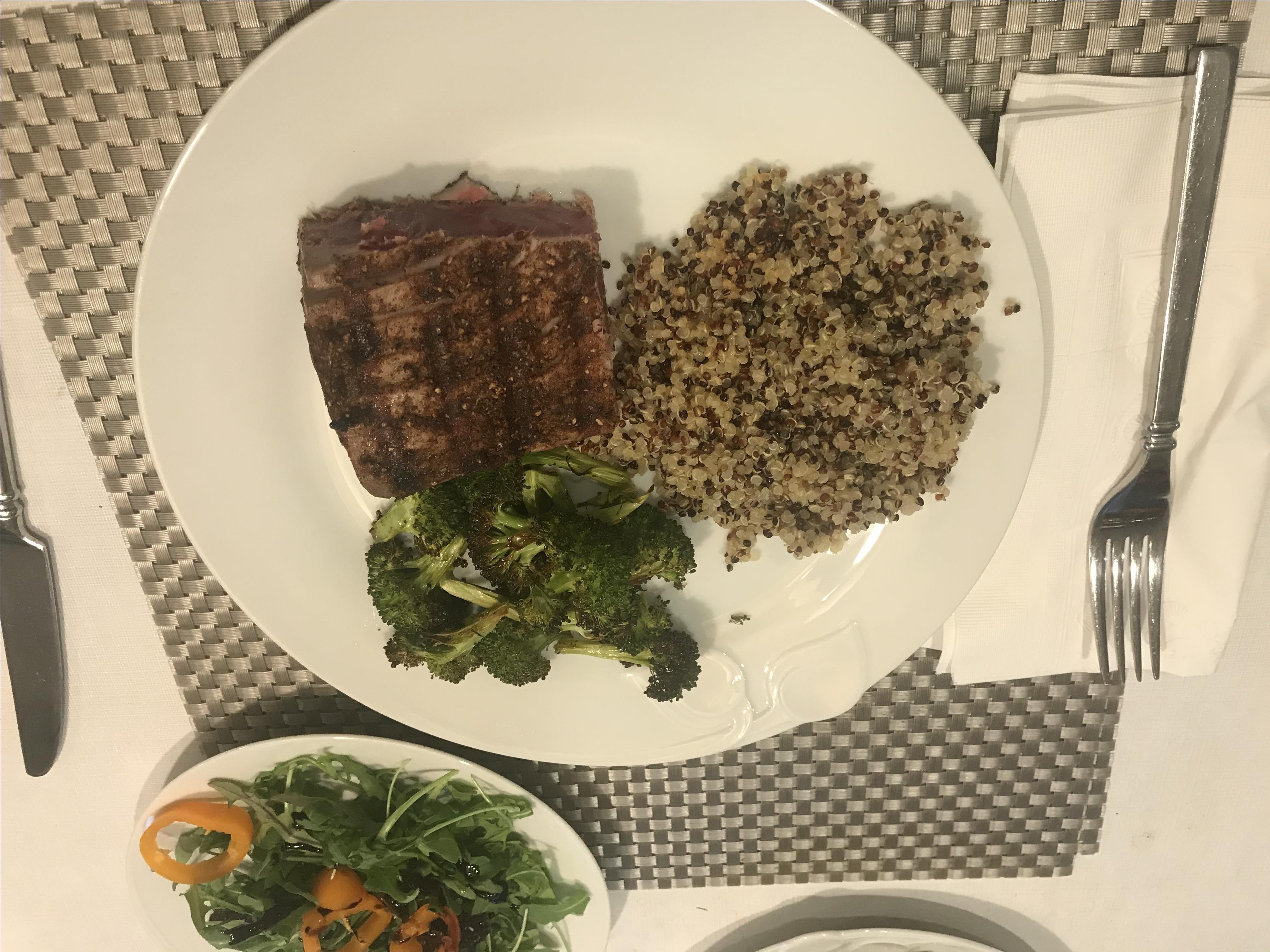 Spicy Rub for Seared Tuna Steaks johnny p