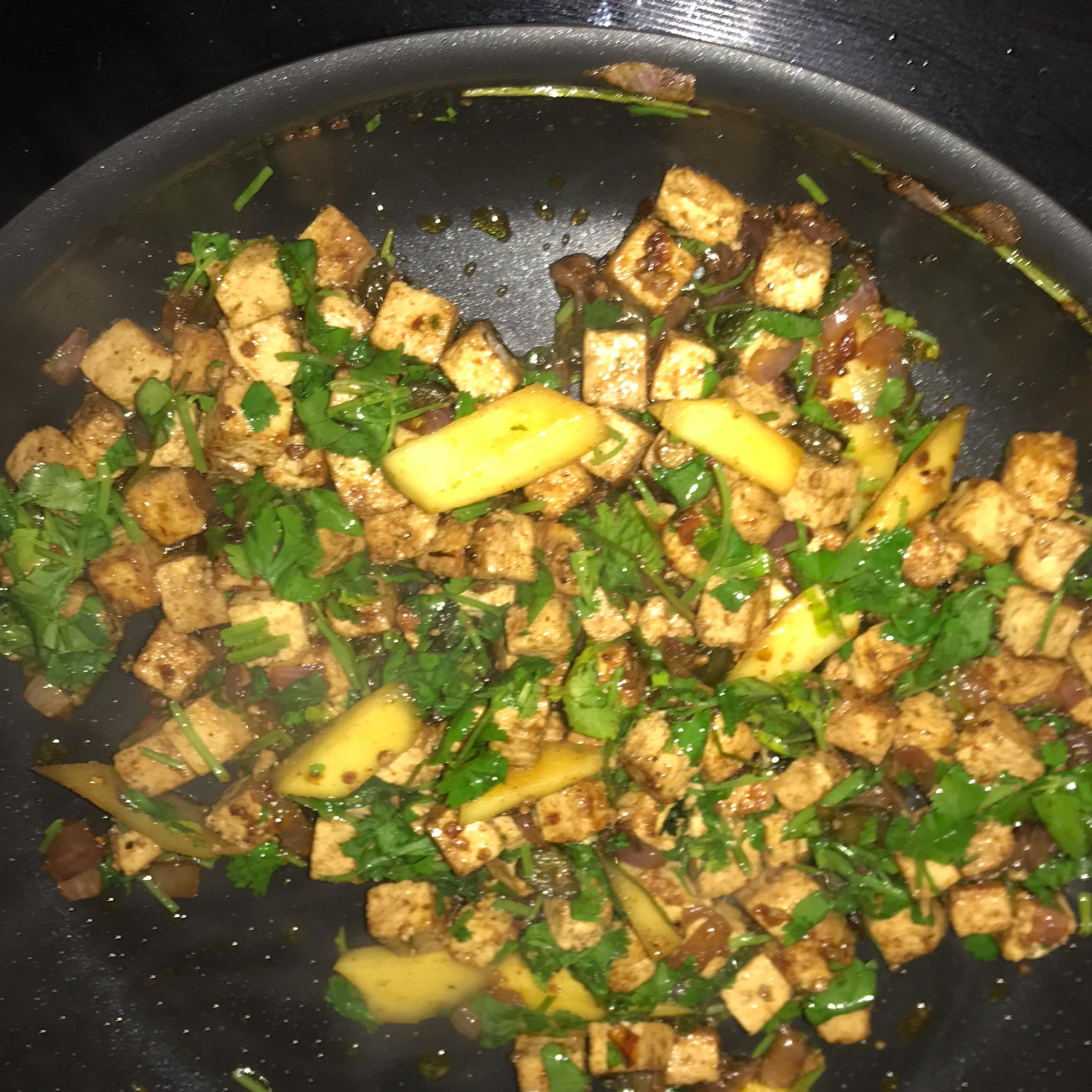 Mango Tofu Tacos D and K