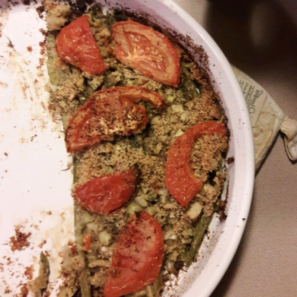 Baked Asparagus Casserole