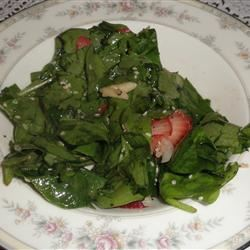 Strawberry Spinach Salad I andrea92fl