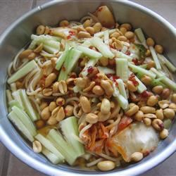 Cold Spicy Noodles (Leng Mian)