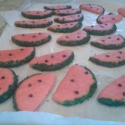 Watermelon Cookies II